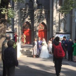 Wedding party in Beijing