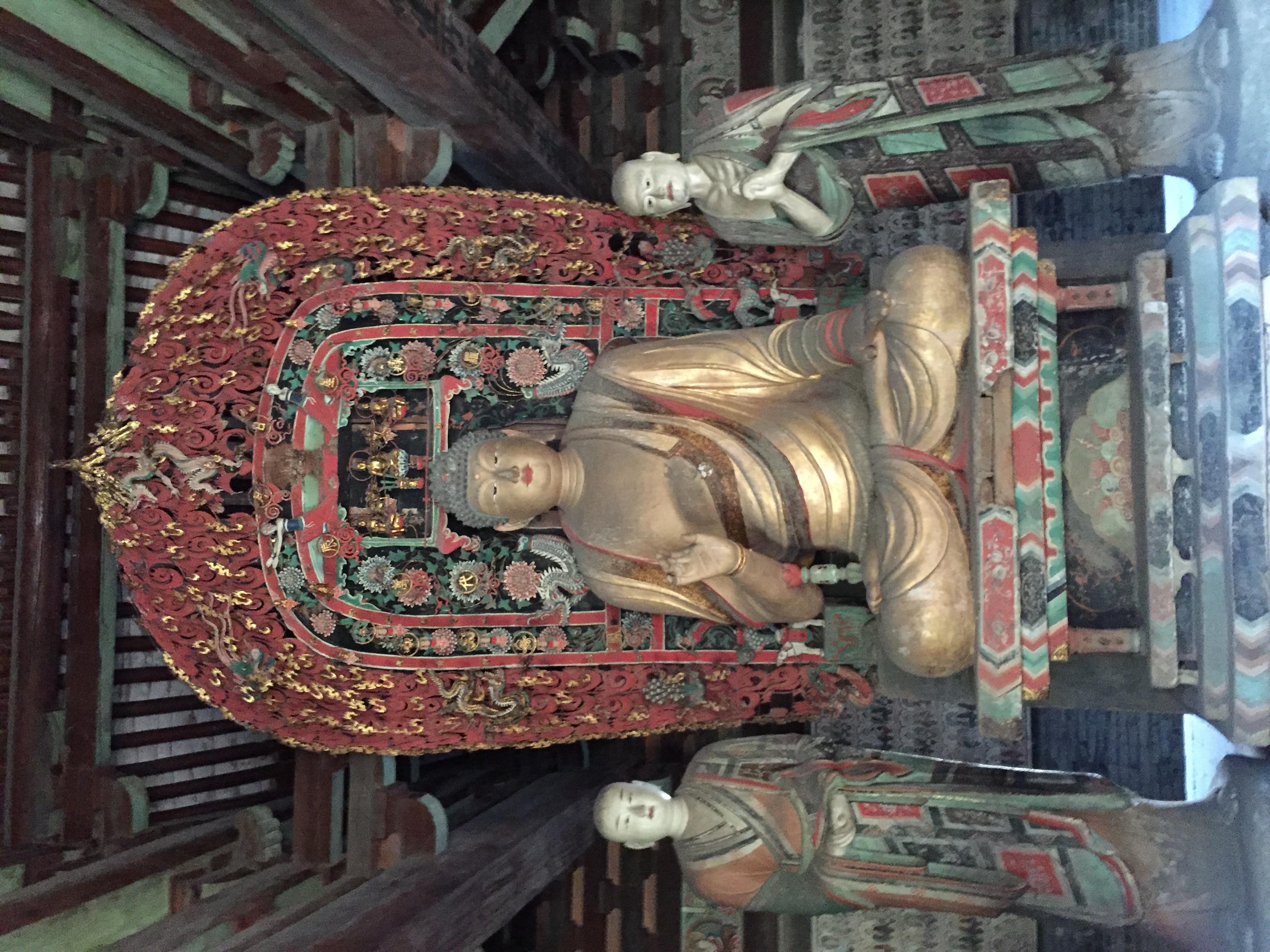 Buddha, Zhenguo Temple