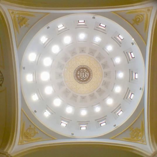 Interior of Seminary church, Macau
