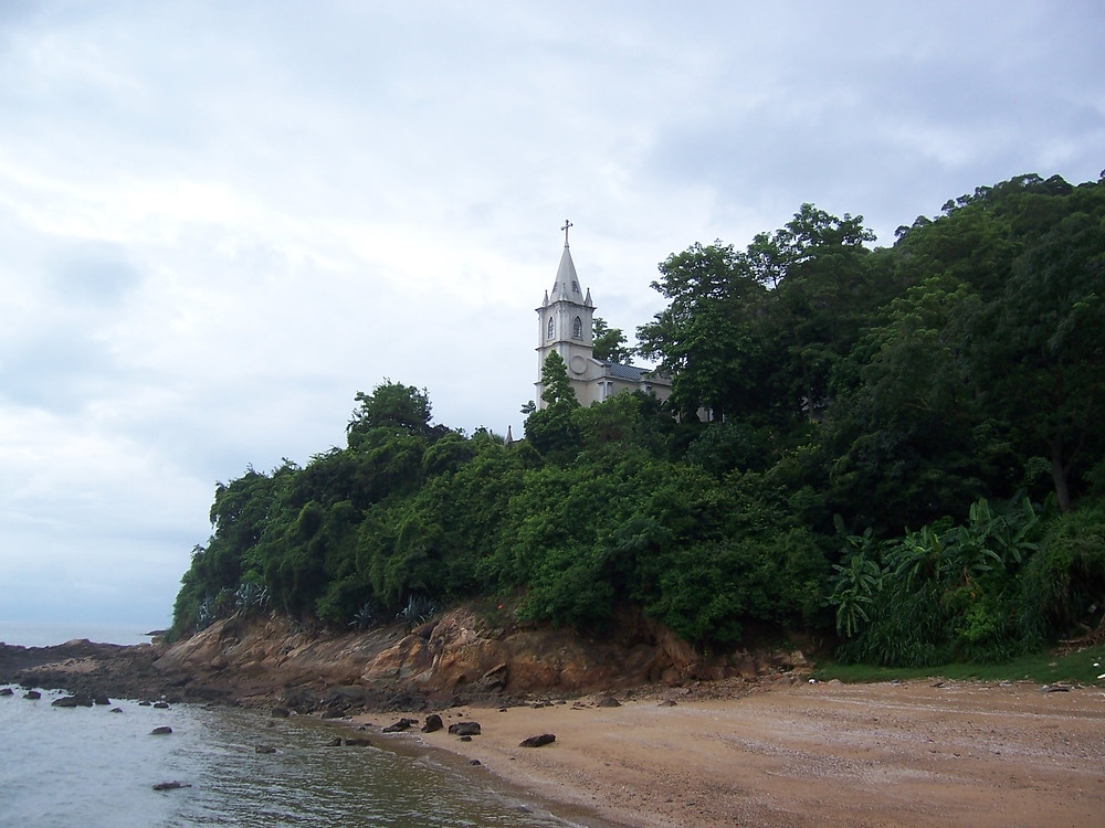Chapel at Shangchuan Island, where St Francis Xavier died