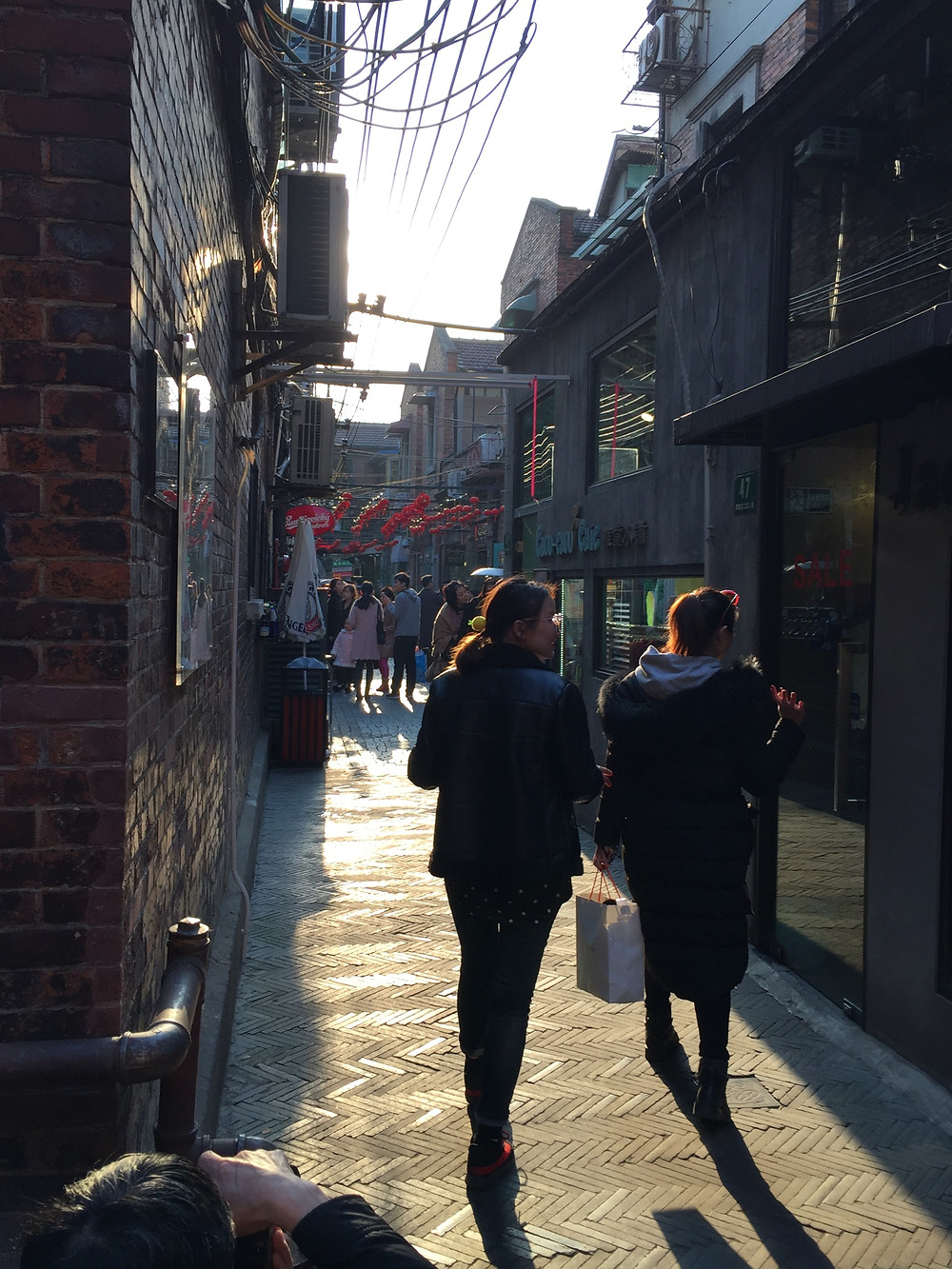 Alleyway in Tianzifang