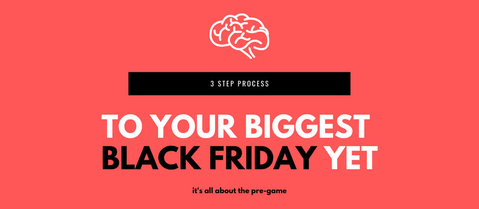 How to Prepare for Black Friday so It's Your Biggest One Yet (3-step process)