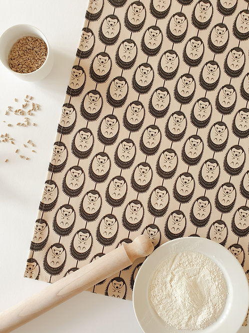 Hannah Issi Oatmeal Hedgehog Tea Towel