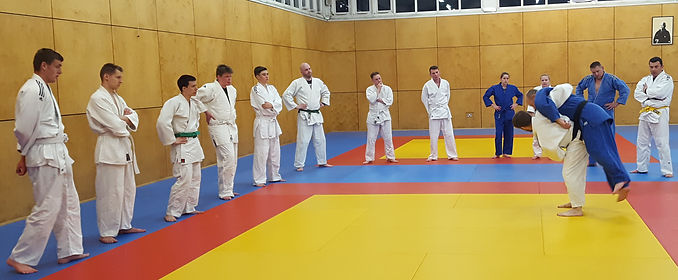 Learning the ABCs of Judo