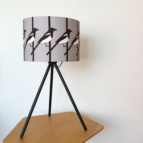 GREY MAGPIE LAMPSHADE