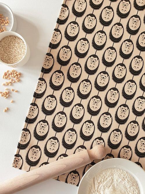 Hannah Issi Vanilla Hedgehog Tea Towel