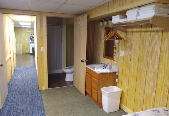 Lower Room bathroom