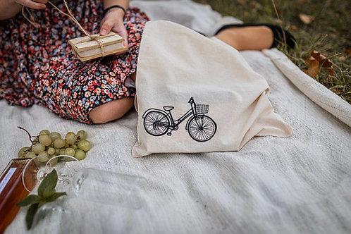 Baumwolltasche - Fahrrad