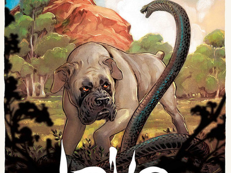 Reading Pile: Love: The Mastiff HC