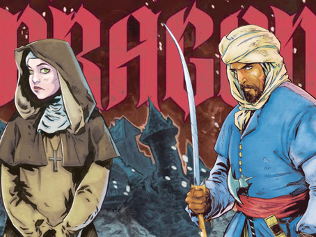 Crowdfunding Worth Your Time & Money- DRAGON: A new graphic novel by Saladin Ahmed and Dave Acosta