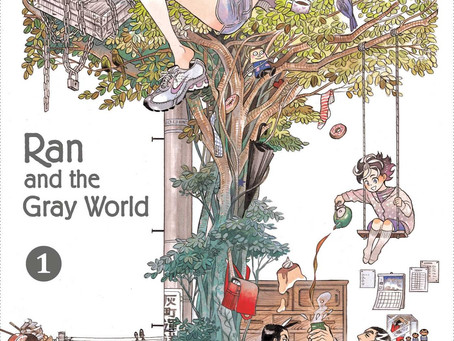 Reading Pile: Ran and the Gray World Vol 1-5 & Tribes of Kai HC