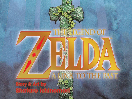 Reading Pile: The Legend of Zelda: A Link To The Past GN