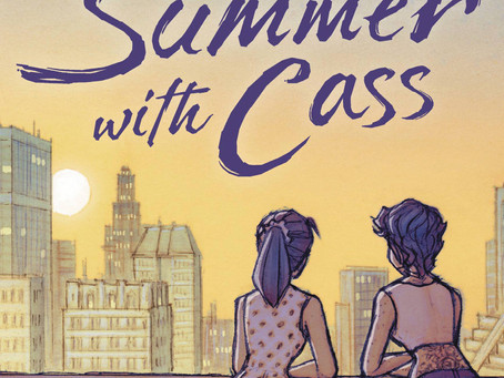 Reading Pile: My Last Summer With Cass GN