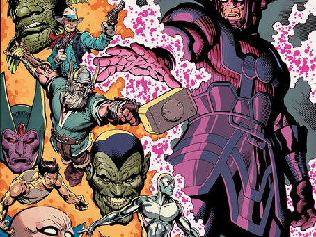 Review: History of the Marvel Universe Treasury Edition