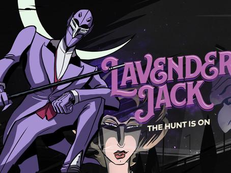 Reading Pile: Lavender Jack