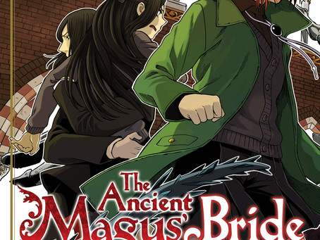 Reviews: Ancient Magus' Bride Vol 13 & Drifting Dragons Vol 4