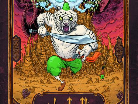 Reading Pile: Sabertooth Swordsman HC