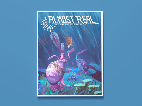 Reading Pile: Almost Real Vol 1 2018 - A Speculative Bio Zine