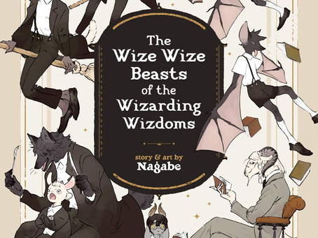 Review: The Wize Wize Beasts of the Wizarding Wizdoms GN