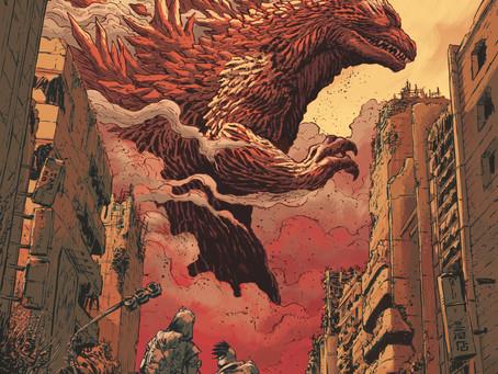 Reading Pile: Godzilla Cataclysm TP