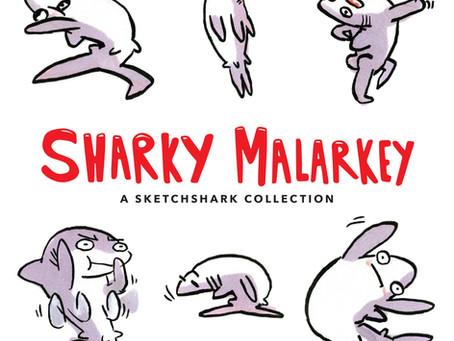 Reading Pile: Sharky Malarkey & The Many Deaths of Scott Koblish HC