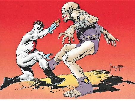 Comic Card Art Spotlight: Frank Frazetta