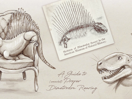 Crowdfunding Worth Your Time & Money: A Guide To (somewhat) Proper Dimetrodon Rearing