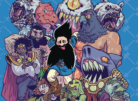 Review: The Savage Beard of She Dwarf GN