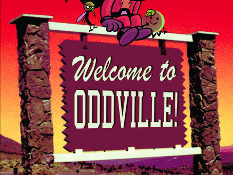 Reading Pile: Welcome To Oddville! HC
