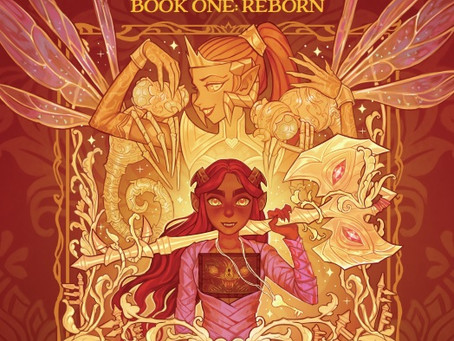 Reading Pile: Ava's Demon Book One: Reborn HC