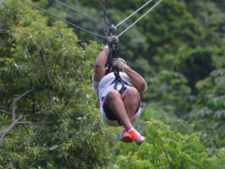 Flying Through The Jungle| Zipline