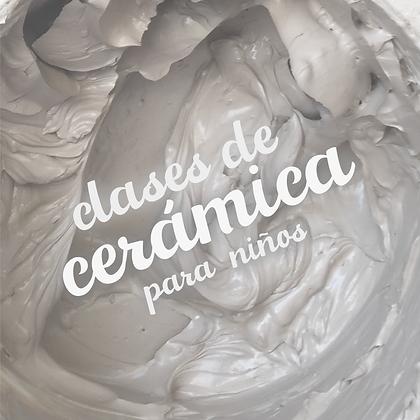 CURSO CERÁMICA KIDS