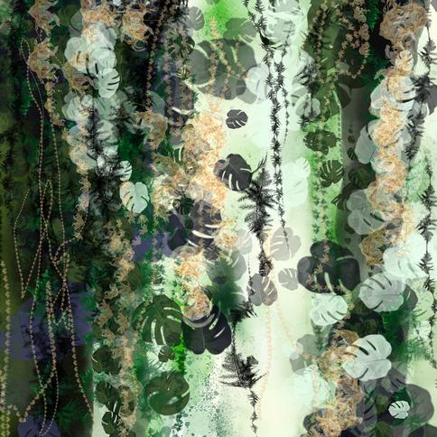 Embracing leaves II