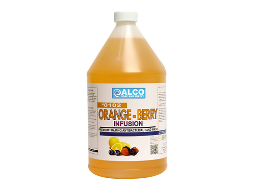 Orange Berry Infusion Premium Foaming Antibacterial Hand Wash