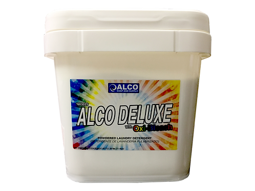 ALCO Deluxe With Oxy Bleach Powdered Laundry Detergent