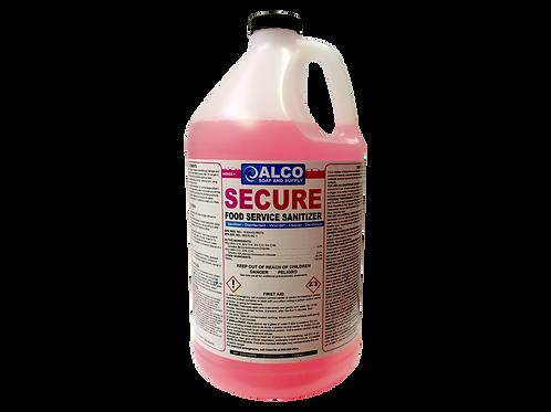 Secure Food Service Sanitizer