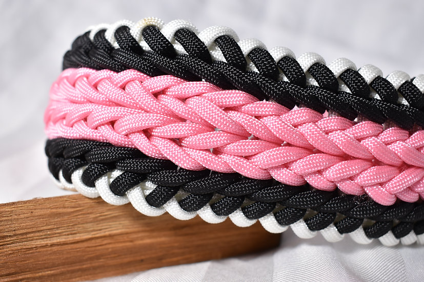 Tiger Stripes Pink/Black - extra wide