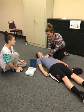 CPR Training - Marion Lab