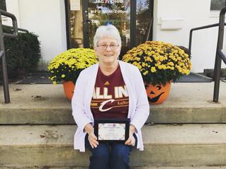 Dee McGrew - Award