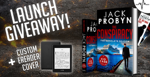 🎁 Giveaway 🎁 The Conspiracy Launch Prizes to be Won
