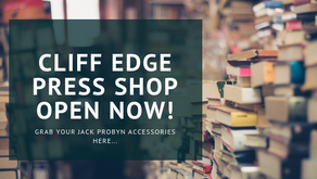 The Cliff Edge Press Shop is OPEN NOW