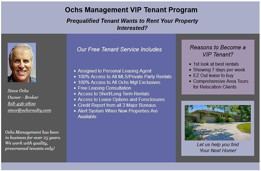 sample offer form for ochs vip tenants