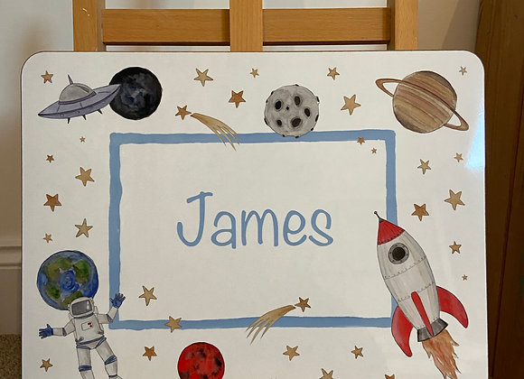 James Personalised Placemat