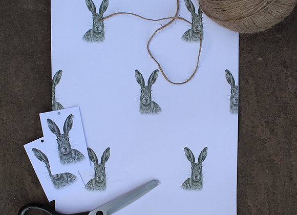 Hare Wrapping Paper (Trade)