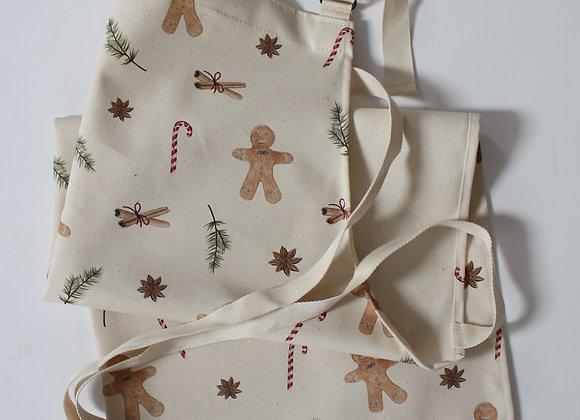 Christmas Gingerbread Men Apron