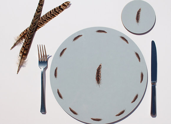 Pheasant Feather Placemats