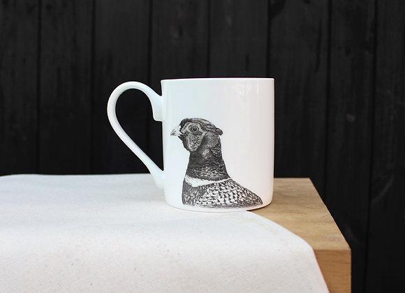 Pheasant Head Mug