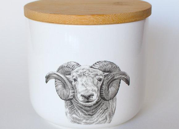 Ram Storage Jar