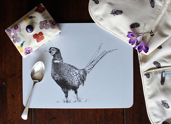 Pheasant Serving Mat