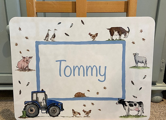 Tommy Personalised Placemat